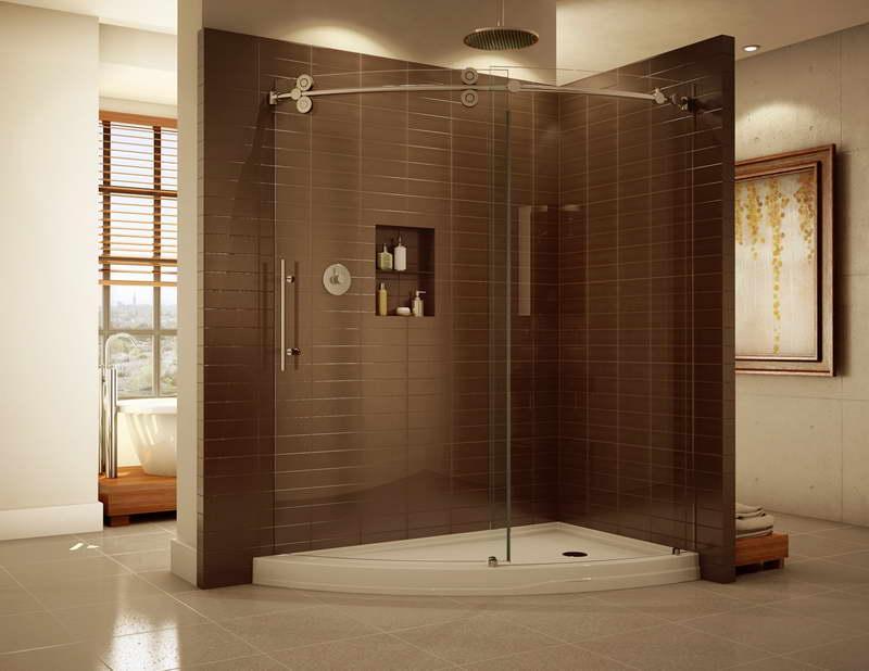 Showers-Without-Doors-Showers-without-Doors-With-Brown-Ceramics