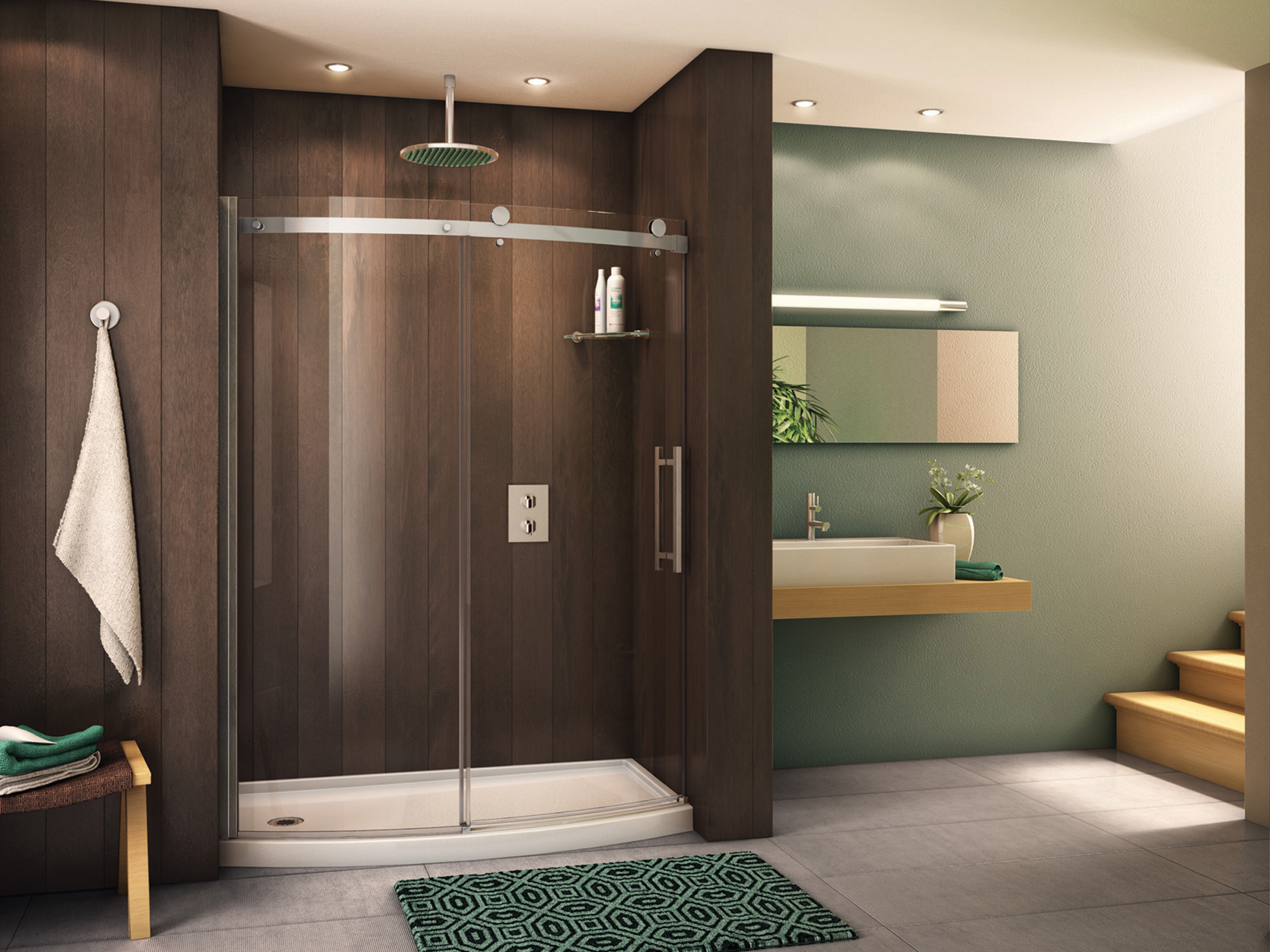 BEAUTIFUL MODERN SHOWER DOORS
